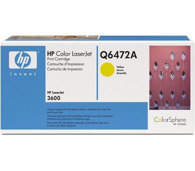 Toner HP Q6472A + DOPRAVA ZDARMA