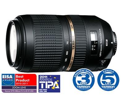 Tamron SP AF 70-300mm F4-5.6 Di VC USD pro Nikon + DOPRAVA ZDARMA