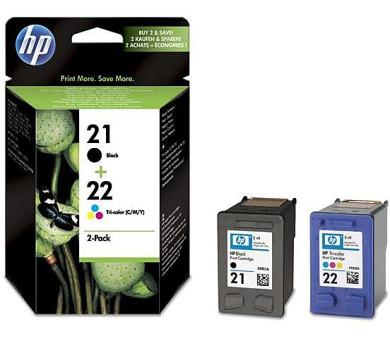 Inkoustová náplň HP No. 21+22 + DOPRAVA ZDARMA