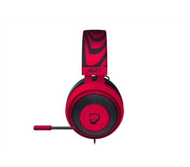 Razer Kraken Pro V2 Neon Red - Oval - PewDiePie (RZ04-02050800-R3M1) + DOPRAVA ZDARMA