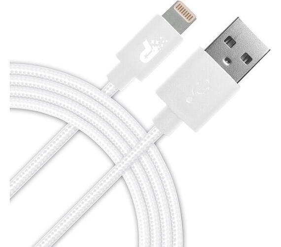 Patriot Lightning kabel MFi,pletený bílý 1m (PCALC3FTWT)