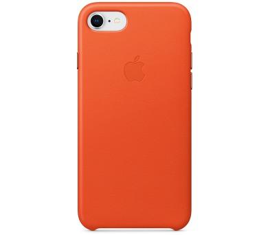 iPhone 8 / 7 Leather Case - Bright Orange (MRG82ZM/A)
