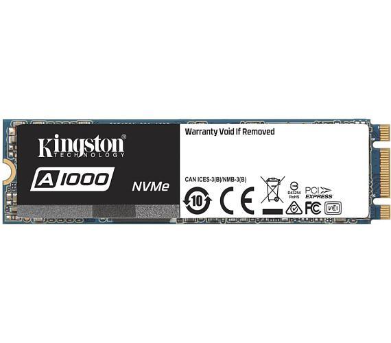 Kingston 240GB SSD disk A1000 PCIe - M.2 version + DOPRAVA ZDARMA