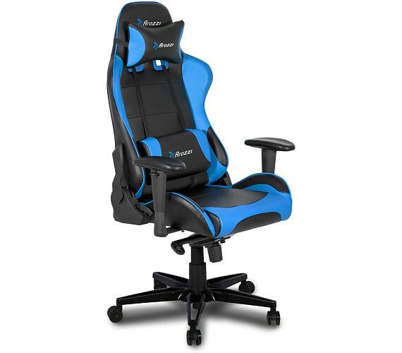 AROZZI herní židle VERONA XL+/ modrá (VERONA-XLPLUS-BLUE)