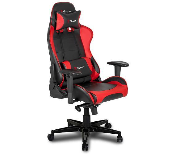 AROZZI herní židle VERONA XL+/ červená (VERONA-XLPLUS-RED)