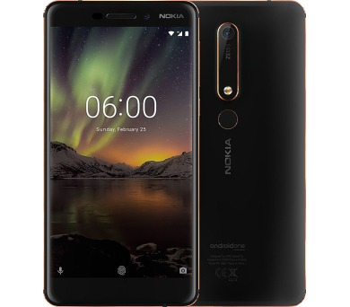 Nokia 6.1 Dual SIM Black/Copper (11PL2B01A10)