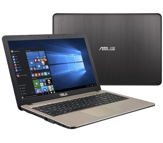 "ASUS X540NA-DM015T Celeron N3350/4GB/500GB/Graphics Share/DVDRW/15,6"" FHD lesklý/W10 Home/Black"