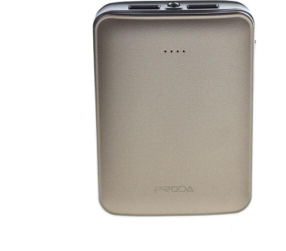 Power bank 10.000mAh,Remax PPL-22 Proda,zlatý (AA-1225)