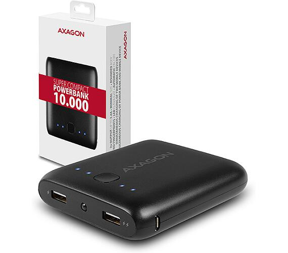 AXAGON PWB-M10 SUPER COMPACT power bank 10000mAh