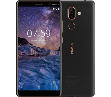 Nokia 7+ Dual SIM Black/Copper (11B2NB01A10)