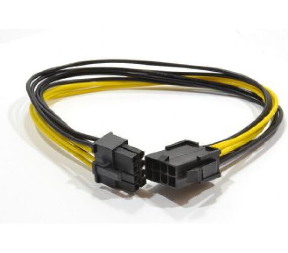 CABLEXPERT prodloužení PCI express 8pin (6+2),30cm (CC-PSU-84)