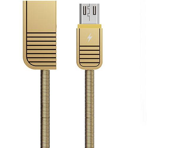 Remax RC-088m Linyo datový kabel micro USB,zlatý (AA-7032)