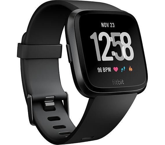 Fitbit Versa - Black / Black Aluminum (FB505GMBK-EU)