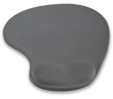 4W Podložka pod myš ergonomická gelová Gray (10100)