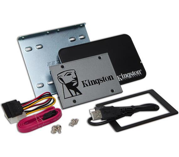 """Kingston Flash 240GB SSDNOW UV500 SATA3 2.5"""" Bundle (SUV500B/240G)"""
