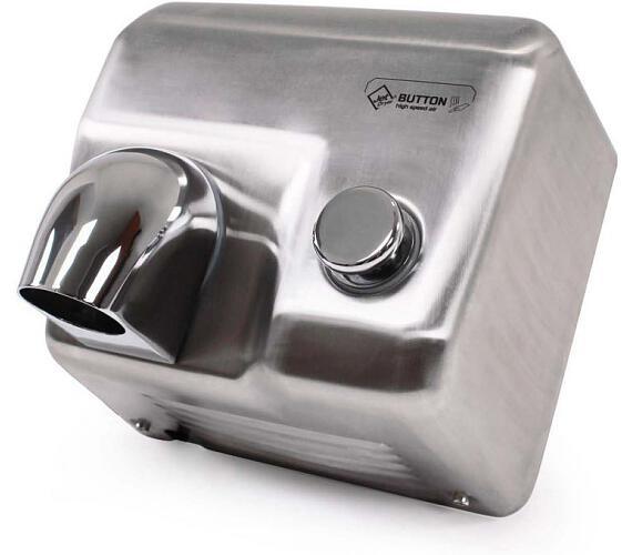 Jet Dryer BUTTON Stříbrný + DOPRAVA ZDARMA