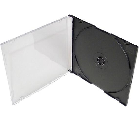 COVER IT Krabička 1 CD 5,2mm slim box + tray - karton 200ks (NN100)