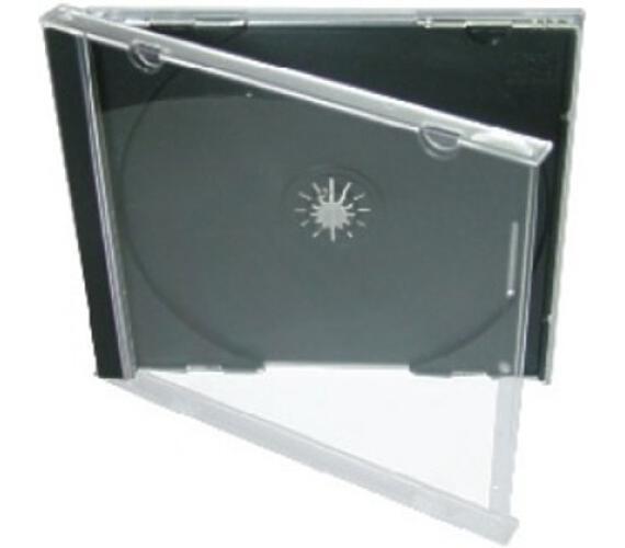 COVER IT Krabička na 1 CD 10mm jewel box + tray - karton 200ks (NN104) + DOPRAVA ZDARMA
