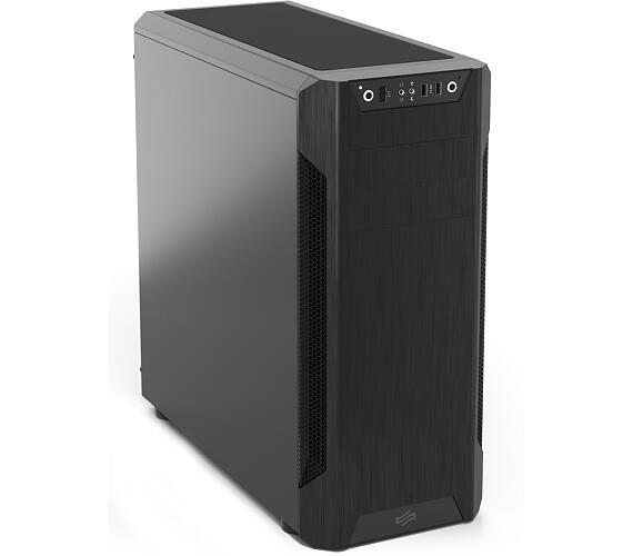 SilentiumPC skříň MidT Armis AR7 Black / 2x USB 3.0 / 3x 120mm fan / černá (SPC181)