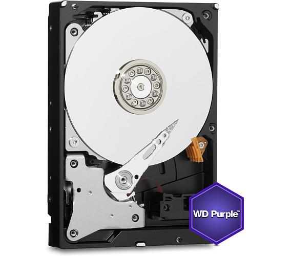 "WD HDD PURPLE 8TB / WD81PURZ / SATA 6Gb/s / Interní 3,5""/ 7200 rpm / 256MB"