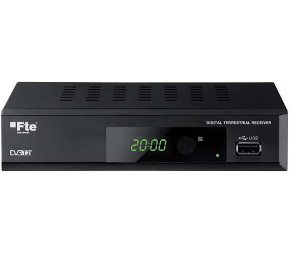 Set-box FTE MAX T200HD DVB-T2 kodek H.265 HEVC