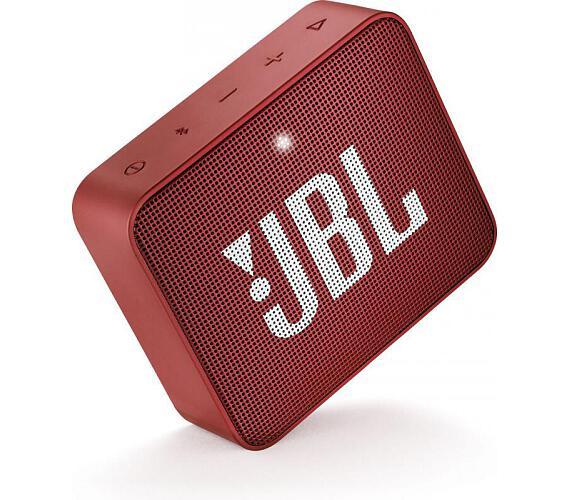 JBL GO2 Red + DOPRAVA ZDARMA