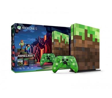 XBOX ONE S - 1TB Minecraft Limited Edition Bundle (23C-00010)