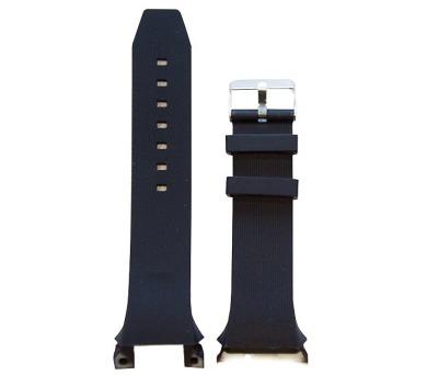 IMMAX řemínek pro chytré hodinky SW7/ černá (05021A)