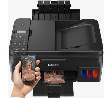 Canon PIXMA G4400 - PSCF/WiFi/AP/ADF/CISS/4800x1200/USB +inkoust (1515C009) + DOPRAVA ZDARMA