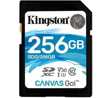 KINGSTON Canvas Go 256GB SDXC / U3 V30 / CL10 (SDG/256GB)