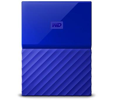 """Ext. HDD 2,5"""" WD My Passport 2TB USB 3.0 modrý (WDBS4B0020BBL-WESN)"""