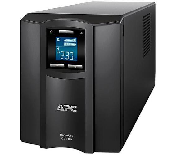 APC Smart-UPS C 1000VA (600W) LCD 230V with SmartConnect (SMC1000IC) + DOPRAVA ZDARMA
