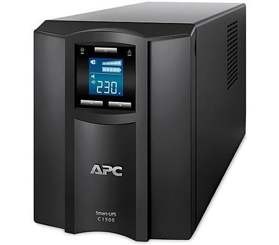APC Smart-UPS C 1500VA (900W) LCD with SmartConnect (SMC1500IC) + DOPRAVA ZDARMA