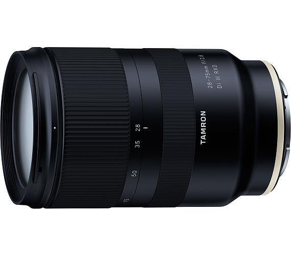 Tamron 28-75mm F/2.8 Di III RXD pro Sony FE + ZÁRUKA 5 let po registraci + DOPRAVA ZDARMA