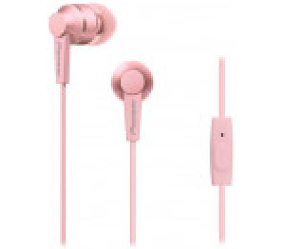 PIONEER SE-C3T-P sluchátka / růžová