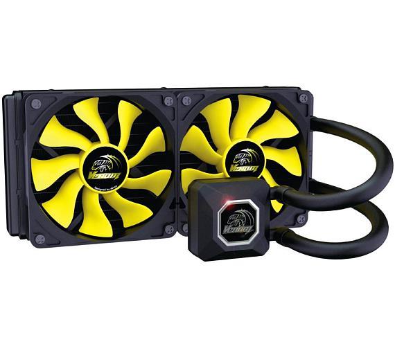 AKASA vodní chladič CPU Venom A20 / AK-LC4002HS02 / Intel LGA 115x + DOPRAVA ZDARMA