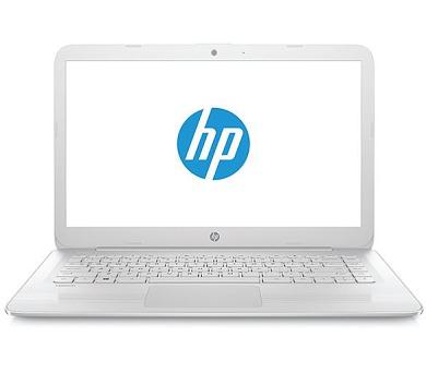 """HP Stream 14-ax006nc / Celeron N3060 dual / 4 GB / 64 GB eMMC / Intel HD / 14"""" HD / Win 10 / bílá (2EQ54EA#BCM)"""