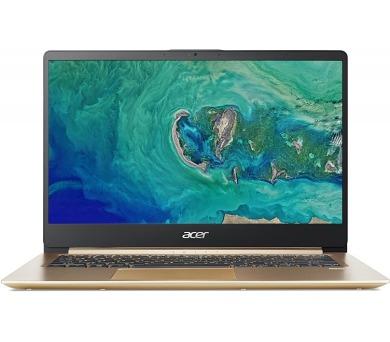 """Acer Swift 1 (SF114-32-P13K) Pentium N5000/4GB+N/128GB SSD M.2+N/A/HD Graphics/14"""" FHD matný/BT/W10 Home/Gold (NX.GXREC.001)"""
