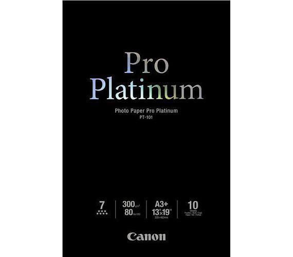 Canon fotopapír PT-101 - A3+ - 300g/m2 - 10 listů - lesklý (2768B018) + DOPRAVA ZDARMA