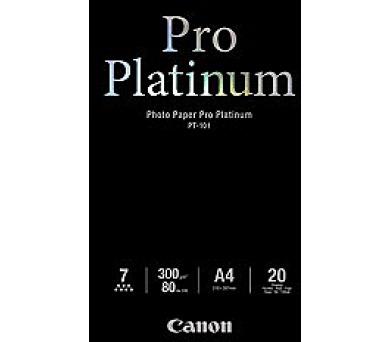 Canon fotopapír PT-101 - A4 - 300g/m2 - 20listů - lesklý (2768B016)