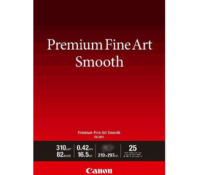 Canon fotopapír Premium FineArt Smooth A2 25 sheets (1711C006) + DOPRAVA ZDARMA
