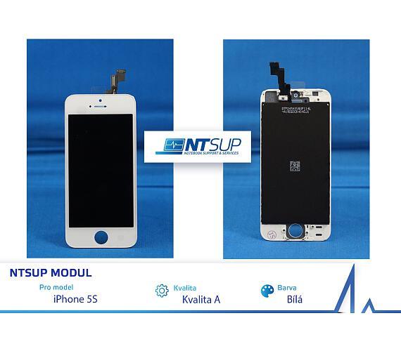 NTSUP LCD modul iPhone 5S bílý kvalita A (38890003)