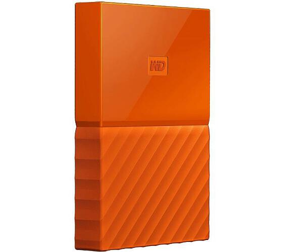 "Ext. HDD 2,5"" WD My Passport 2TB USB 3.0 oranžový (WDBS4B0020BOR-WESN)"