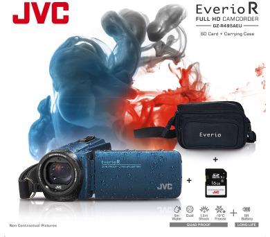 JVC GZ-R495AKIT FULL HD + DOPRAVA ZDARMA