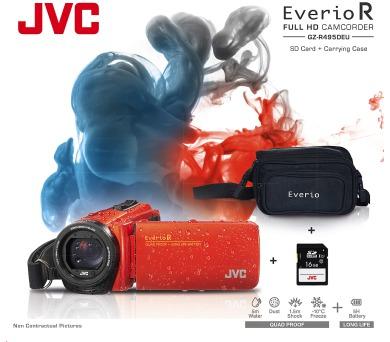 JVC GZ-R495DKIT FULL HD + DOPRAVA ZDARMA