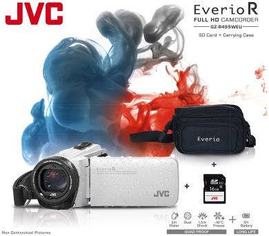 JVC GZ-R495WKIT FULL HD + DOPRAVA ZDARMA