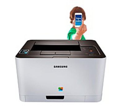 Samsung Xpress SL-C430W Color Laser Printer (SS230C#EEE)