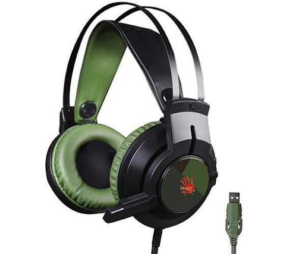 A4tech Bloody J437 herní sluchátka s mikrofonem