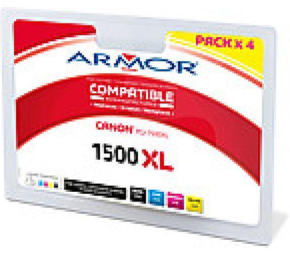 Armor multipack pro Canon (PGI1500XG) BCMY (B10404R1) + DOPRAVA ZDARMA