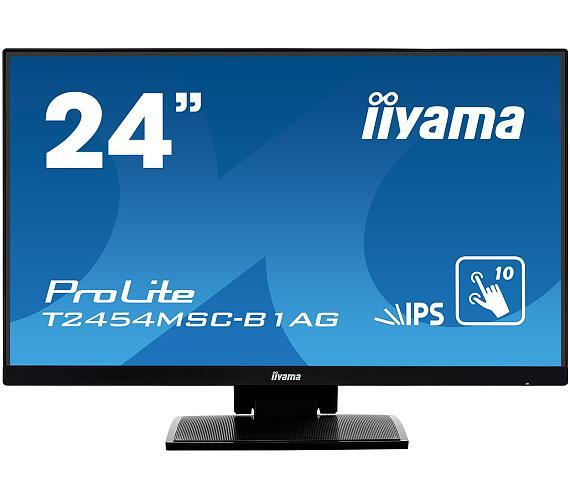 iiyama T2454MSC-B1AG - IPS,FullHD,5ms,250cd/m2 + DOPRAVA ZDARMA